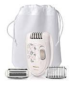 Епілятор Philips Satinelle HP6423/00 Білий/ Сірий