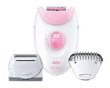 Эпилятор Braun SE 3270 Белый / Розовый