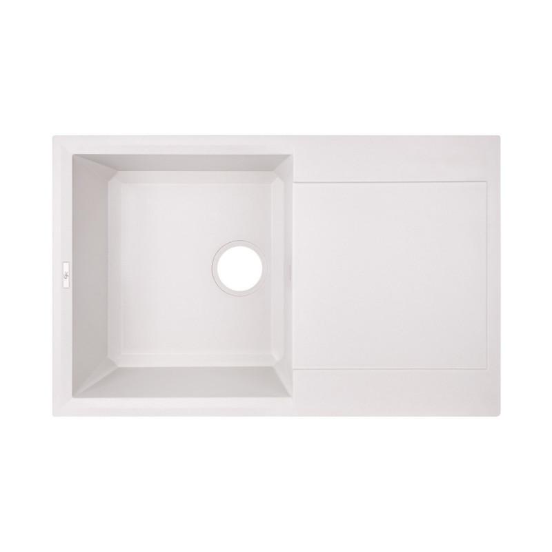 Кухонная мойка GF 790x495/230 WHI-01 (GFWHI01790495230)