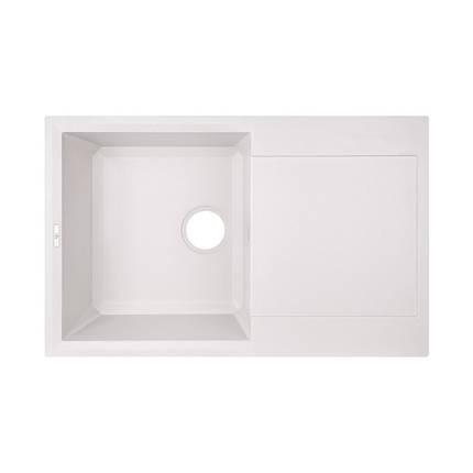 Кухонная мойка GF 790x495/230 WHI-01 (GFWHI01790495230), фото 2