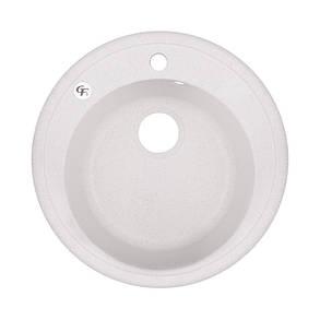 Кухонная мойка GF D510/200 WHI-01 (GFWHI01D510200), фото 2