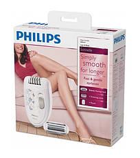 Епілятор Philips Satinelle HP6423/00 Білий/ Сірий, фото 3