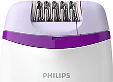 Епілятор Philips Satinelle Essential BRE225/00 Білий/ Фіолетовий, фото 3