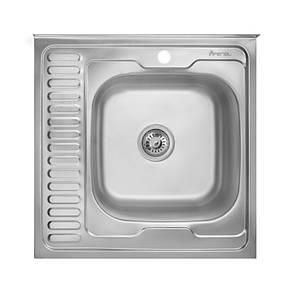 Кухонная мойка Imperial 6060-R Satin (IMP6060RSAT), фото 2