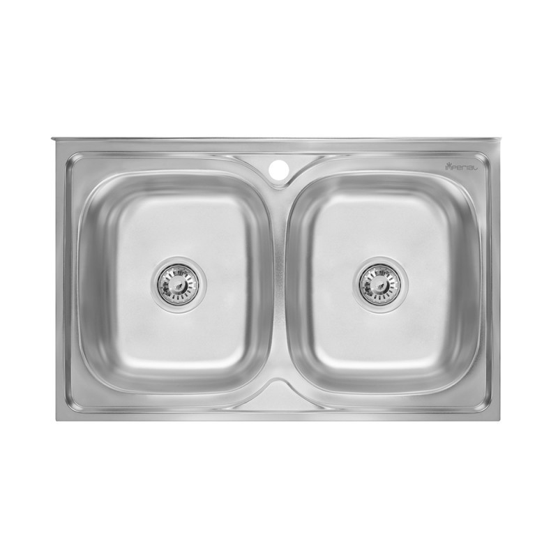 Кухонная мойка Imperial 6080 Decor (IMP6080DEC)