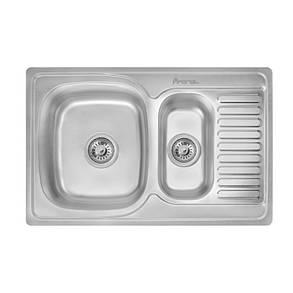 Кухонная мойка Imperial 7850 Satin (IMP7850SATD), фото 2
