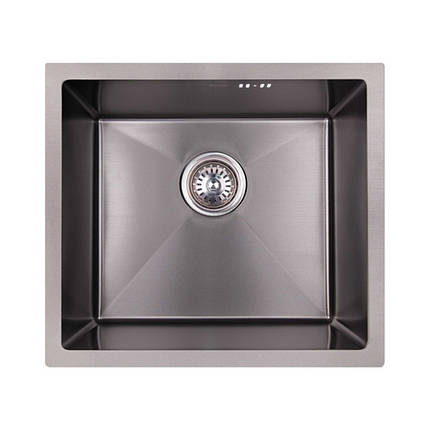 Кухонная мойка Imperial Handmade D4843BL 2.7/1.0 мм (IMPD4843BLPVDH10), фото 2