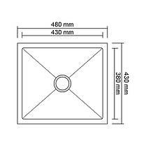 Кухонная мойка Imperial Handmade D4843BR 2.7/1.0 мм (IMPD4843BRPVDH10), фото 2