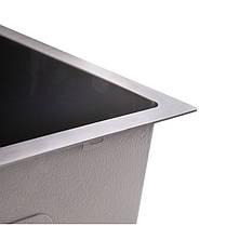 Кухонная мойка Imperial Handmade D5843BL 2.7/1.0 мм (IMPD5843BLPVDH12), фото 3