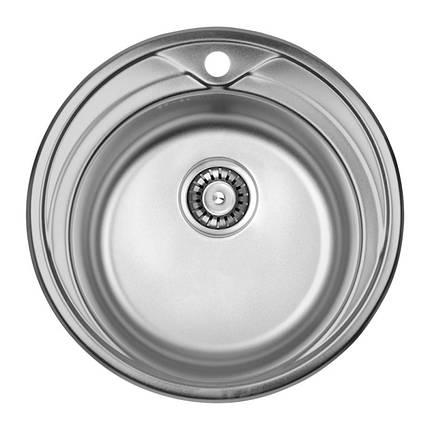 Кухонная мойка ULA 7109 U Micro Decor (ULA7109DEC08), фото 2