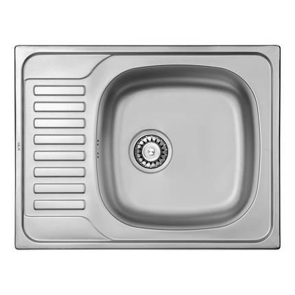 Кухонна мийка ULA 7201 U Satin (ULA7201SAT08), фото 2