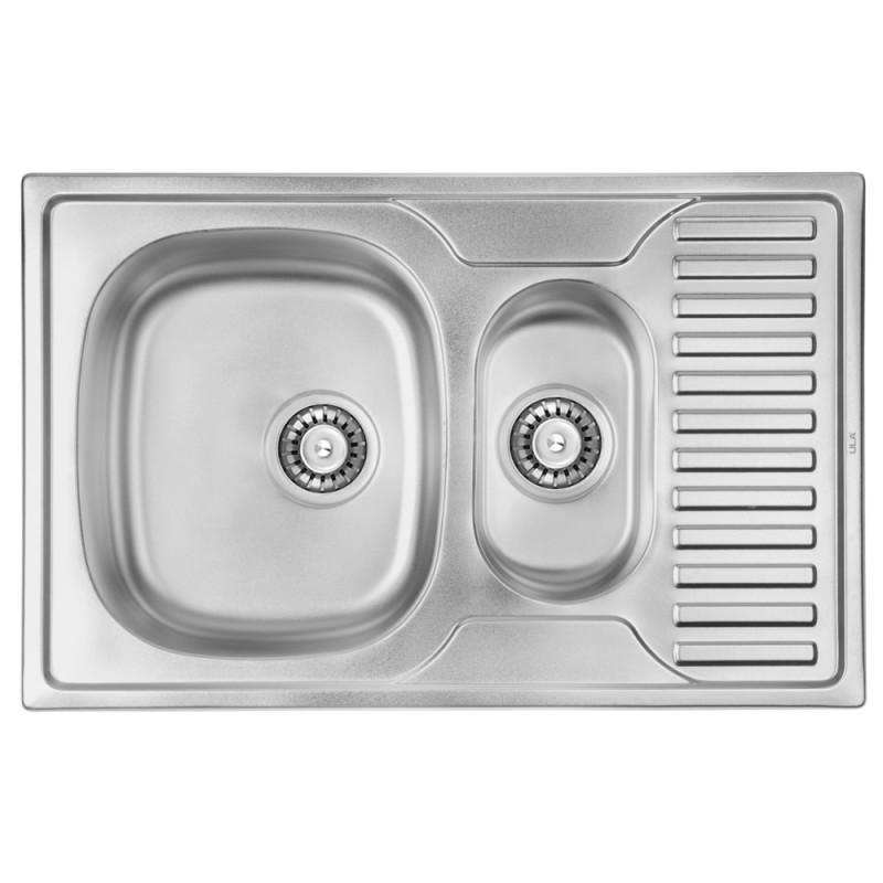 Кухонная мойка ULA 7301 Satin (ULA7301SAT08)