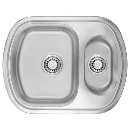 Кухонная мойка ULA 7703 U Micro Decor (ULA7703DEC08), фото 2
