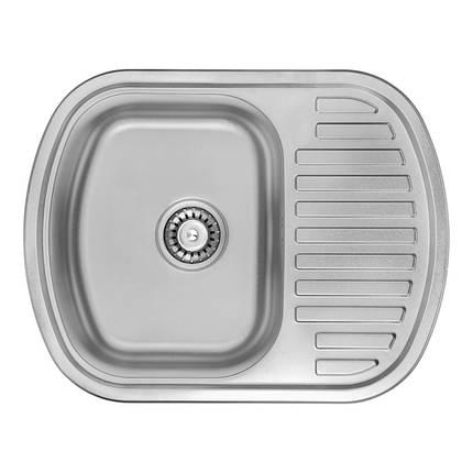 Кухонная мойка ULA 7704 U Satin (ULA7704SAT08), фото 2