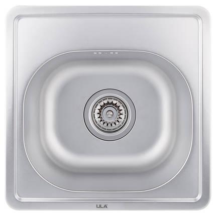 Кухонная мойка ULA 7706 U Micro Decor (ULA7706DEC08), фото 2
