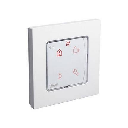 Комнатный термостат Danfoss Icon Programmable с дисплеем встроенный 088U1020, фото 2