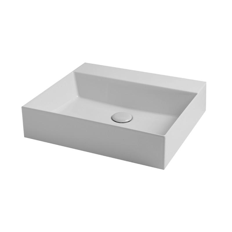 Раковина Azzurra Elegance squared EQA60MB1 shiny white