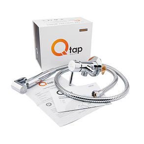 Набор для гигиенического душа Q-tap Inspai-Varius V00440001 CRM скрытого монтажа, фото 2