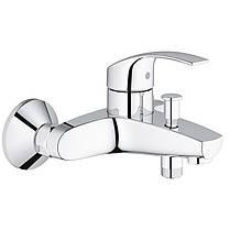 Набор смесителей для кухни, умывальника, ванны и душевая стойка M-Size Grohe Eurosmart 123248MK, фото 3