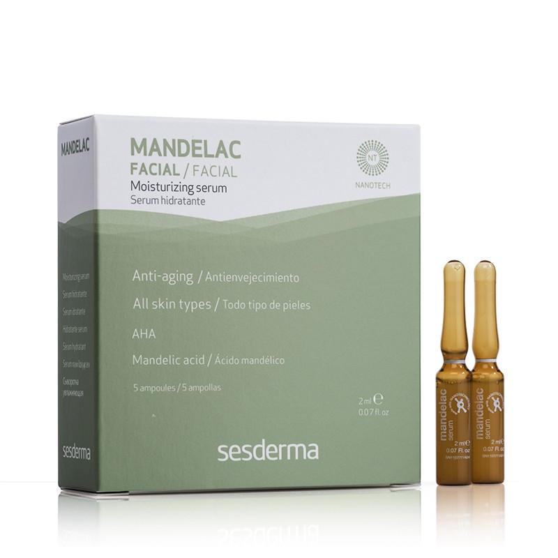 Увлажняющая сыворотка с миндальной кислотой SESDERMA MANDELAC MOISTURIZING SERUM 10%