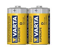 Батарейка VARTA SUPERLIFE D (бочка технічна) 2шт./бл