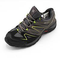 Распродажа.Молодежные кроссовки повседневные демисезонные (Серо-салатовый цвет) сток Размер 42