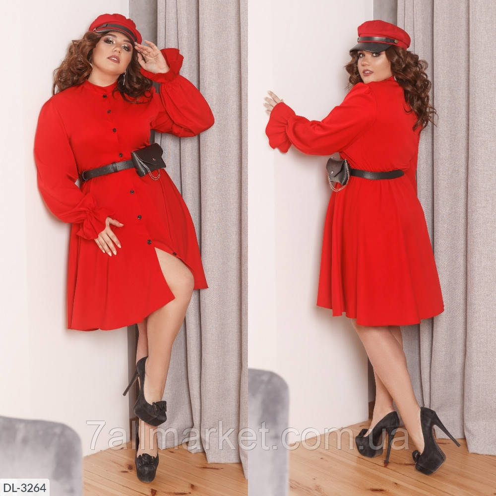 """Платье женское с сумочкой мод:193 (48-50, 52-54, 56-58) """"BELUZA"""" недорого от прямого поставщика"""