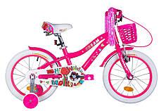 """Велосипед 16"""" Formula CREAM 2020 (малиновый)"""