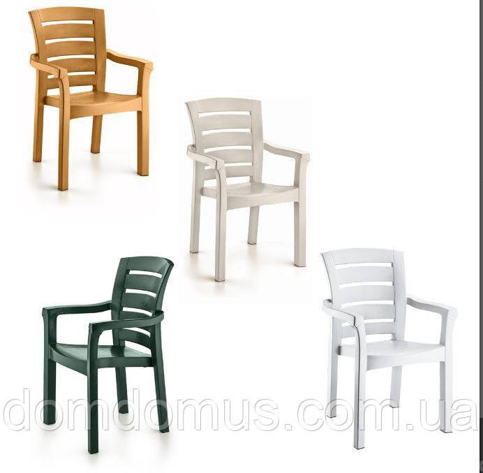 """Крісло пластикове """"Didim"""" 56*51*90 см, Irak Plastik, Туреччина"""
