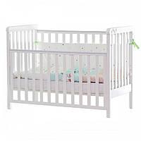 Кровать детская Верес ЛД12 белый 12.3.1.7.06