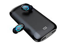 Гарнитура Power Bank HBQ Q66 TWS Bluetooth V5.0 с двойным микрофоном беспроводные