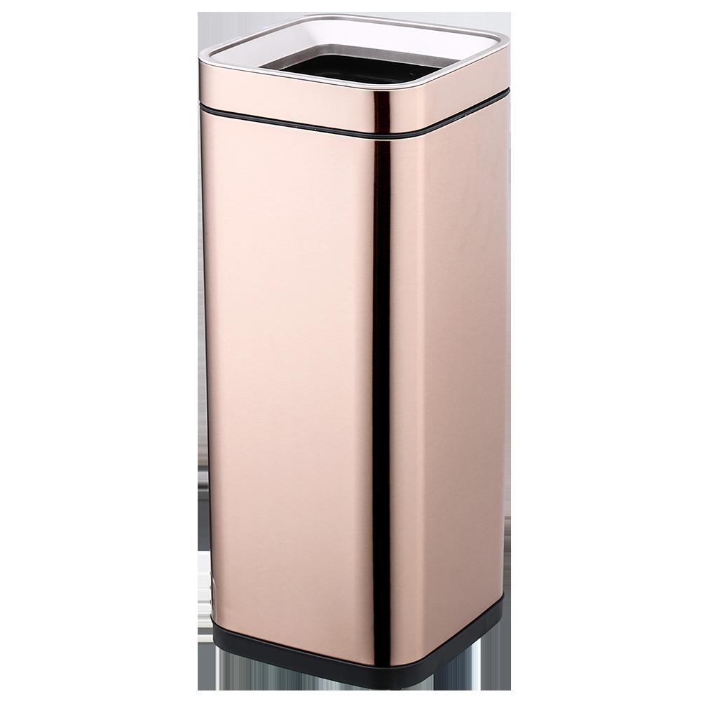 Ведро для мусора JAH 30 л розовое золото без крышки и внутреннего ведра