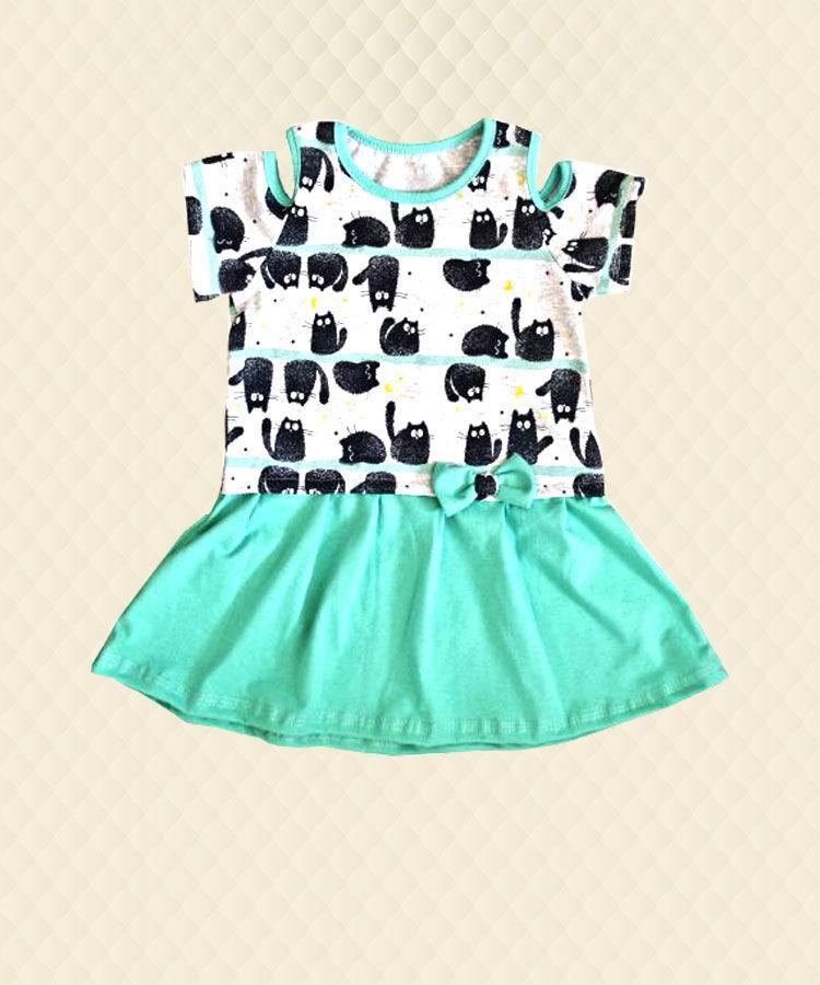 Платье для девочки Летнее кулир