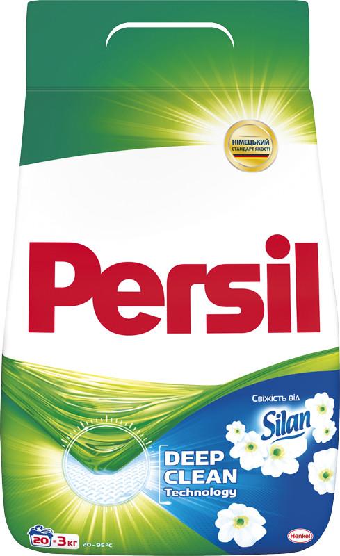 """Пральний порошок Persil """"Свіжість від Silan"""" (3кг, 20 прань)"""