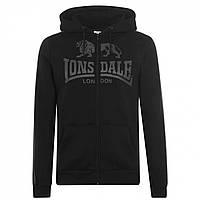 Худи Lonsdale Lonsdale 2S Zip Black/White - Оригинал, фото 1