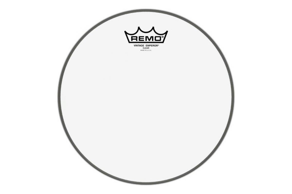 Пластик для барабана REMO Batter, Vintage EMPEROR®, Clear, 10'' Diameter