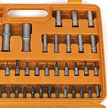 Набор головок 94 ед. (1/4 x 1/2 ) Стандарт СИЛА   251394, фото 3
