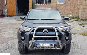 Кенгурятник высокий (защита переднего бампера) Toyota 4Runner 5 2014+