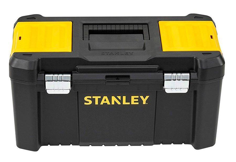 Ящик Stanley Essential с металлическим замком, 482x254x250 мм (STST1-75521)