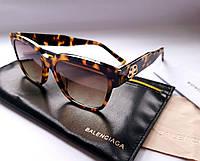 New - женские брендовые очки Balenciaga BB0056 S - Havana