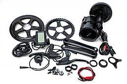 Электрический велонабор Bafang 48В 1000Вт BBSHD 68мм 46T дисплей С965, ручка газа, тормозные ручки