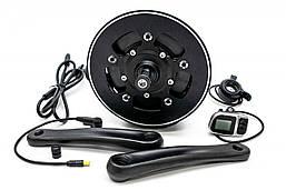 Электрический велонабор TSDZ 48В 350Вт 48-350 68мм 42T дисплей VLCD6, ручка газа, тормозные ручки