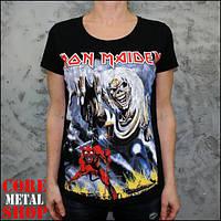 Женская футболка Iron Maiden The Number Of The Beast