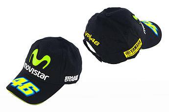 Бейсболка (Мото кепка) MOVISTAR (черная)