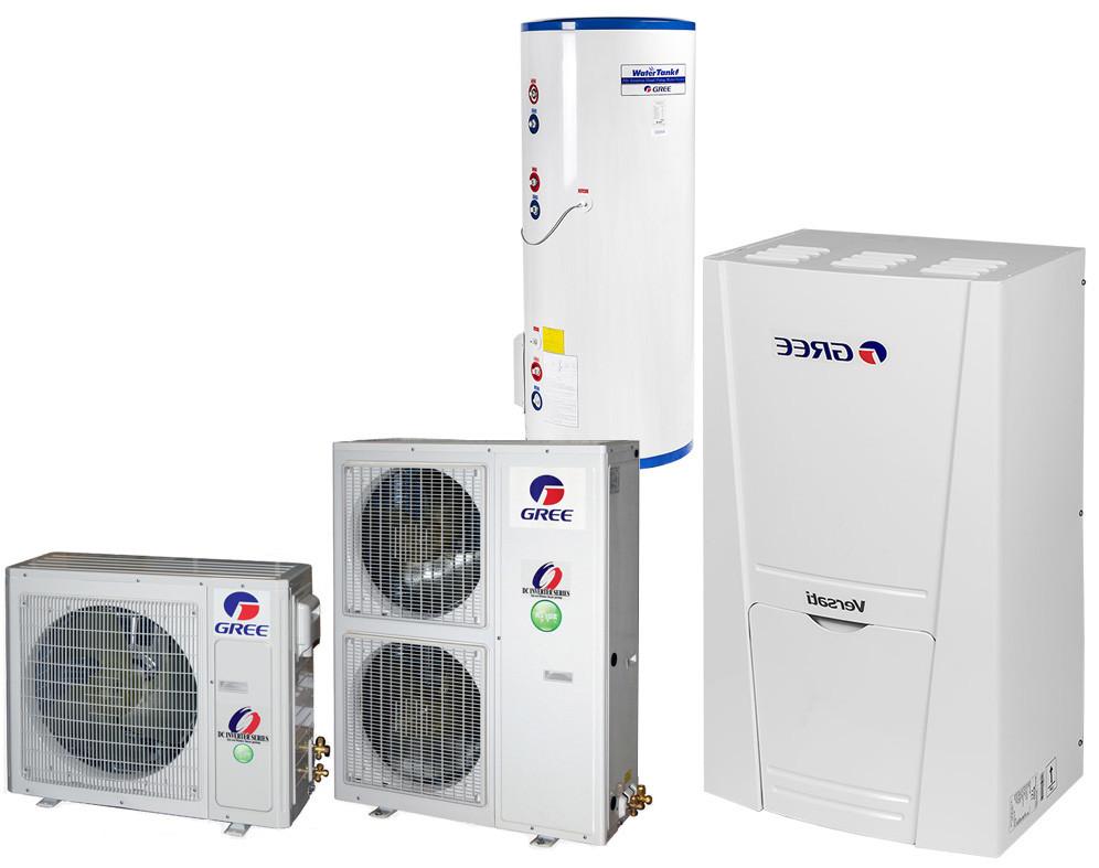 Однофазный тепловой насос Versati GRS-CQ12Pd/Na-K (12 кВт)