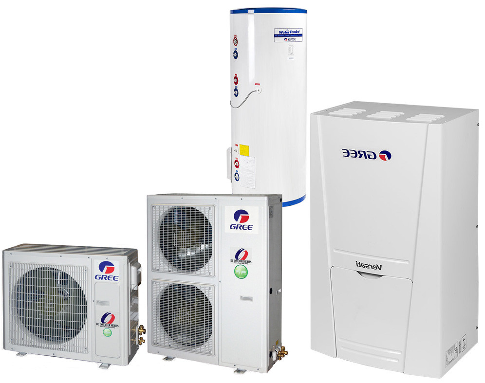 Однофазний тепловий насос Versati GRS-CQ16Pd/Na-K (16 кВт)