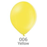 """Шар воздушный BELBAL пастель 006 Жёлтый Yellow 12"""" (30см)"""