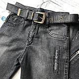 Летний джинсовый костюм на мальчика 40. Размер 7 лет, 8 лет, фото 3