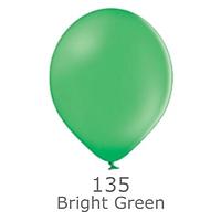 """Шар воздушный BELBAL пастель 135 Экстра bright green 12"""" (30см)"""