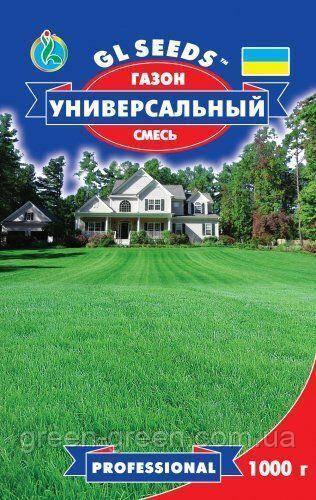 Газонная трава универсальная, семена, упаковка 1кг